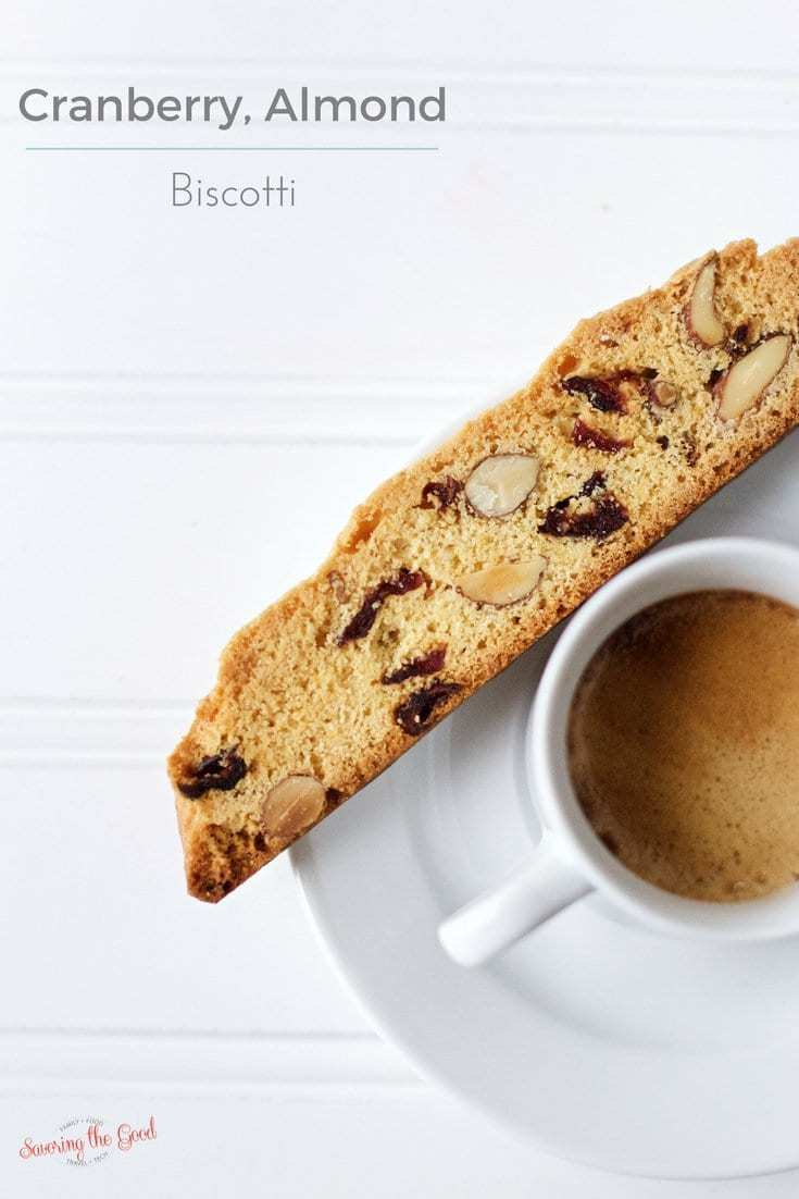 Cranberry, almond biscotti is perfect for enjoying alongside a cup of ...