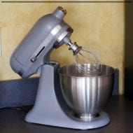 KitchenAid Artisan Mixer Recipes to get you started in the kitchen.