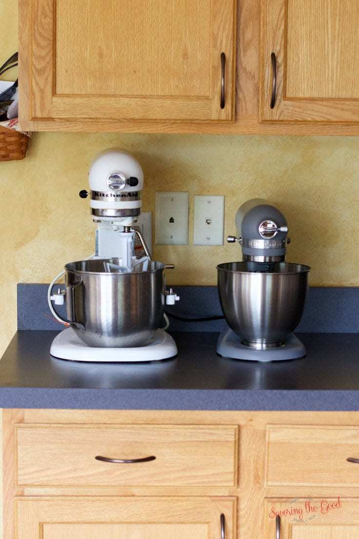 kitchenaid mini mixer size comparison