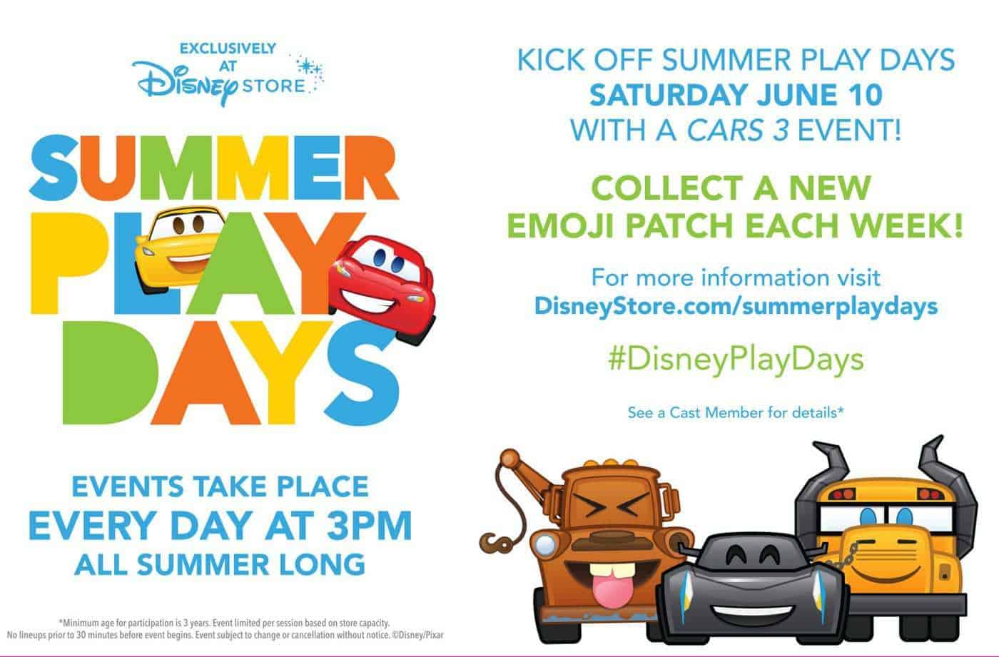 Disney Store Summer Of Play Days
