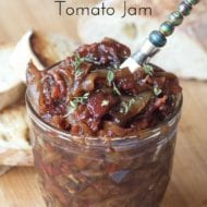Bacon Onion Tomato Jam Recipe
