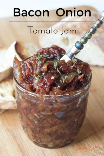 Bacon Onion Tomato Jam