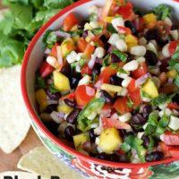Black Bean Corn Mango Salsa