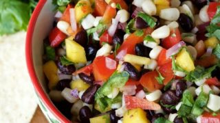 Black Bean Corn Mango Salsa
