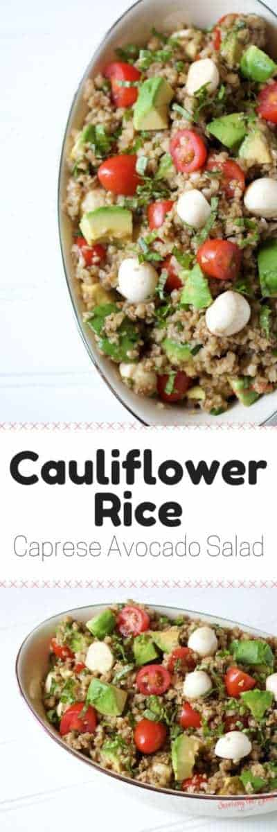 A delicious way to enjoy cauliflower rice