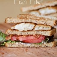 Crispy Fish Filet BLT Sandwich Recipe