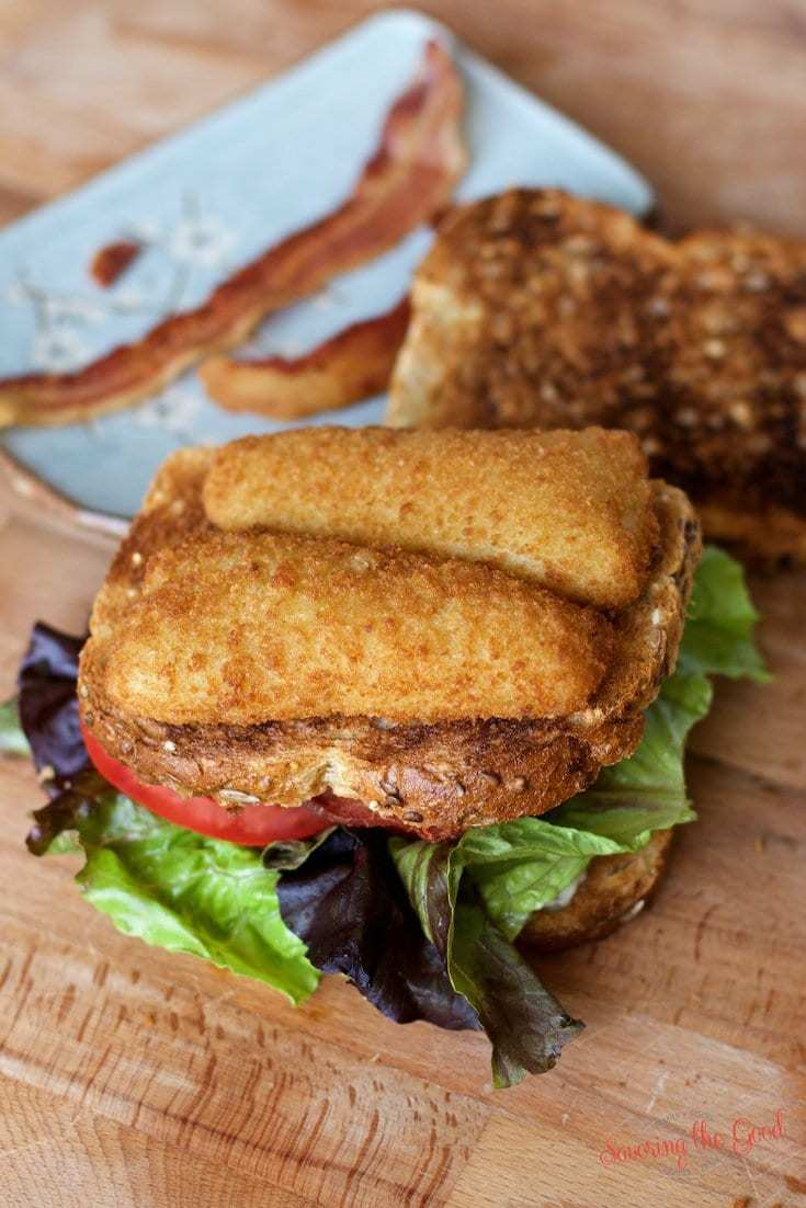 Crispy fish filet blt sandwich recipe for Good fish sandwich near me