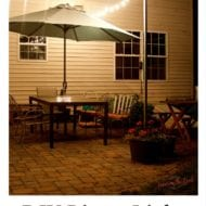 DIY Bistro Light Patio Planters. Instructions To Beautify Your Outdoor Living Space