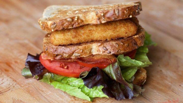 Crispy Fish Filet BLT Sandwich