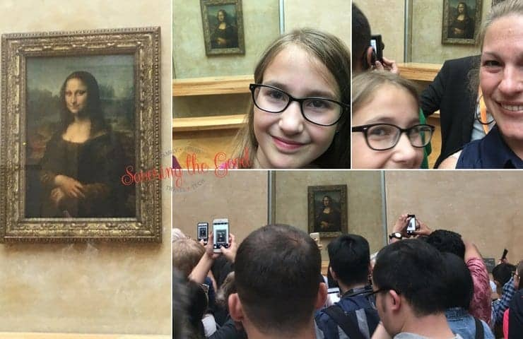 Visiting Louvre Kids