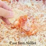 Cast Iron Grilled Pizza Dip Recipe