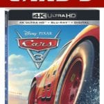 Disney Pixar Cars 3 Announces The Digital and Blu-ray Release Dates #cars3