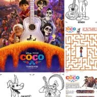 Disney Pixar Coco Coloring And Activity Sheets. Free Download