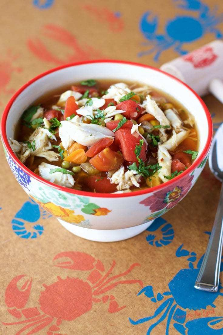 Maryland crab soup easy recipe