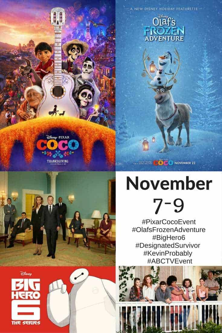 A preview of the #PixarCocoEvent. What we will be seeing and doing!
