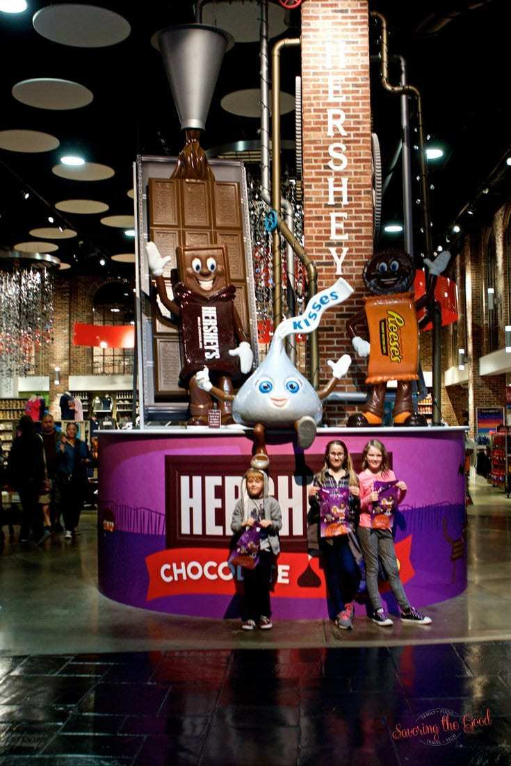 Hershey's chocolate world photo spot