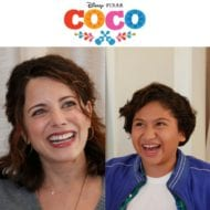 Meet the voices of Mama Imelda and Miguel from Pixar's Coco