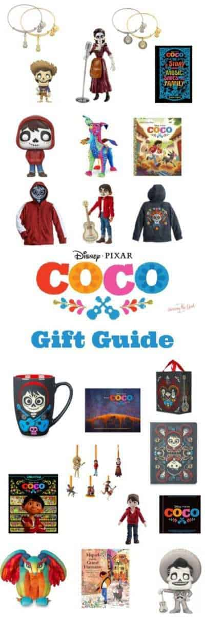Need a present for your favorite Coco fan? I've rounded up some of my top picks in this Coco Gift Guide! There is something for kids, teens as well as adults. Something for all ages!