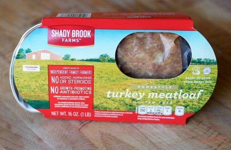 Turkey Meatloaf Sheet Pan Supper