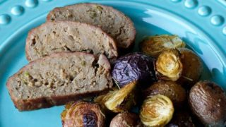 Turkey Meatloaf Sheet Pan Supper Recipe