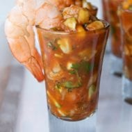 Mexican Shrimp Cocktail Shooters