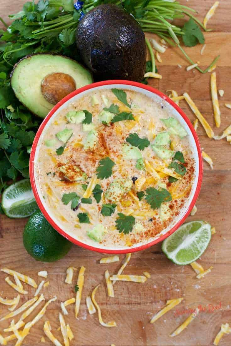 Crockpot Mexican Corn Soup Slow Cooker Mexicorn