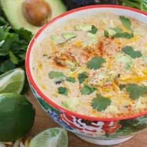 crockpot mexican corn soup