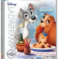 Lady and the Tramp out on Blue-Ray DVD and Digital