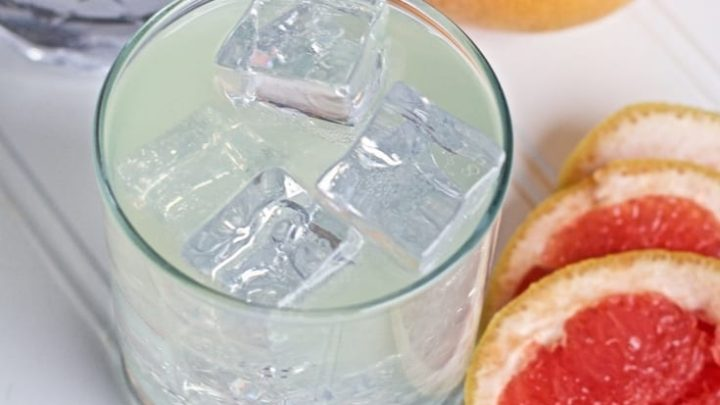 Sous Vide Grapefruit Infused Gin