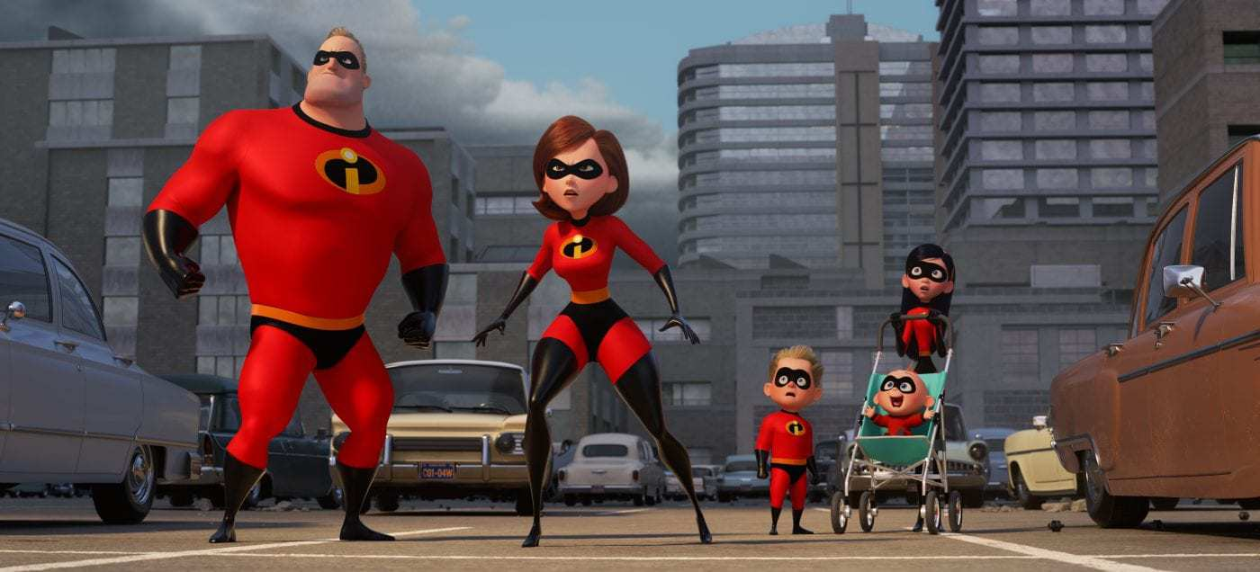 Incredibles 2 Press Event