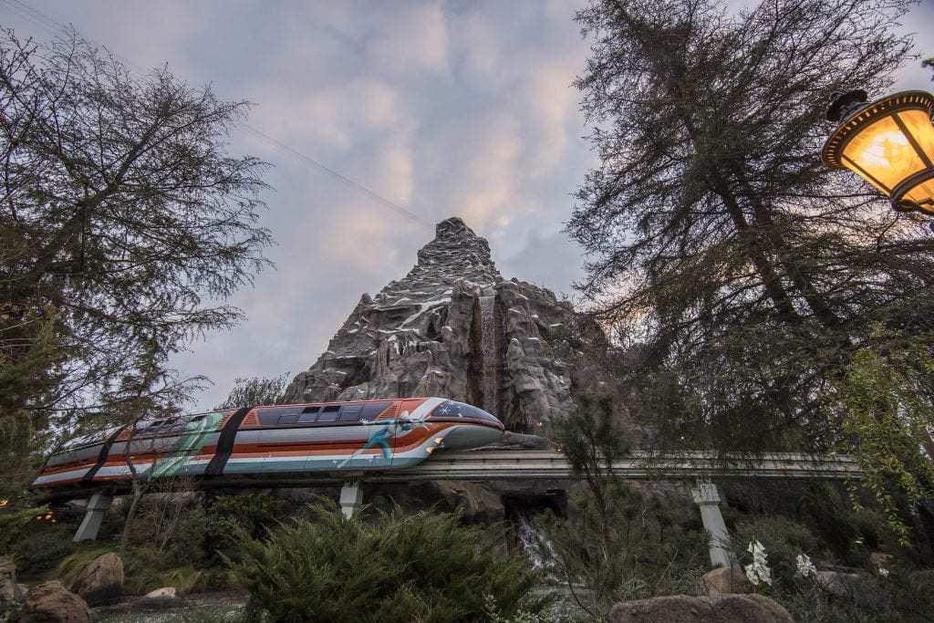 pixar fest monorails