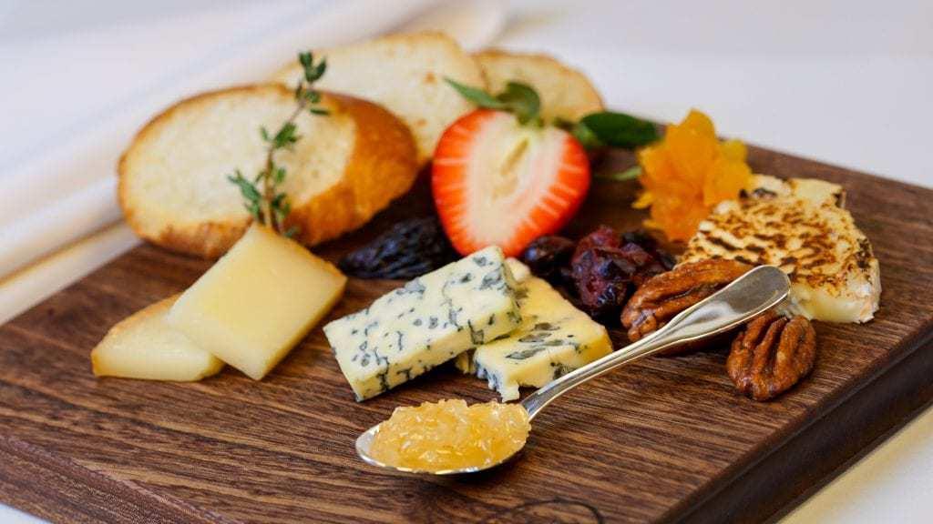 Pixar fest Cafe Orleans Cheese Platter