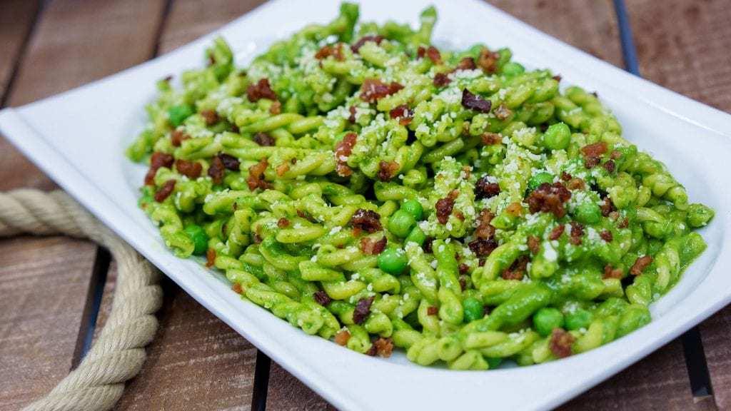 Pixar fest Green Pesto Pasta