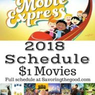 Regal Cinema's Summer Movie Express 2018 Schedule