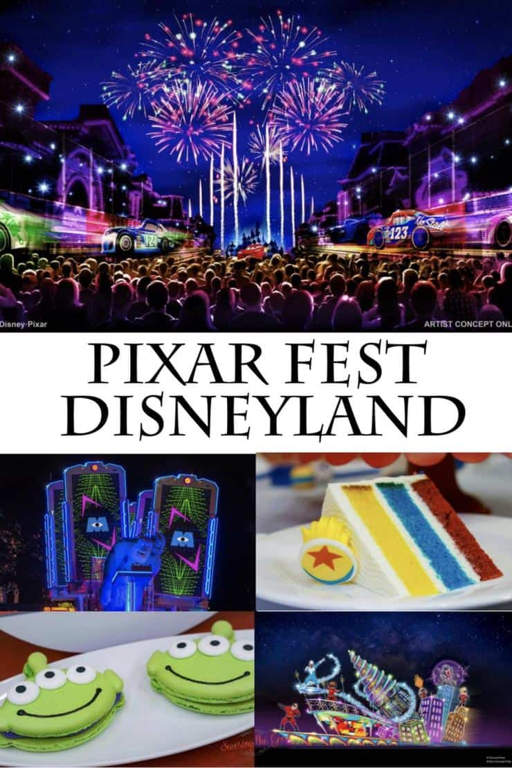 Pixar Fest is happening at Disneyland Resort and Disney California Adventure Park this summer and it will be incredible! Here is everything you need to know before you head to Pixar Fest. Preview the Pixar Fest food, rides, parades and fireworks.