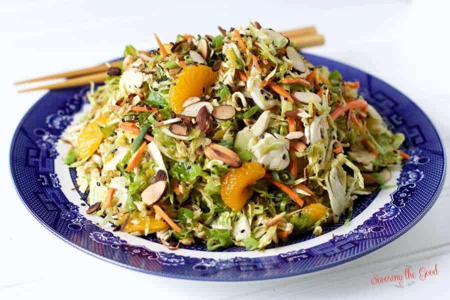 easy Asian Ramen Noodle Salad