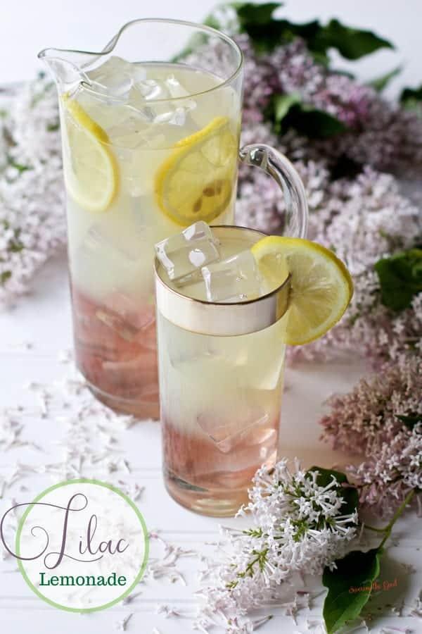 Lilac Lemonade