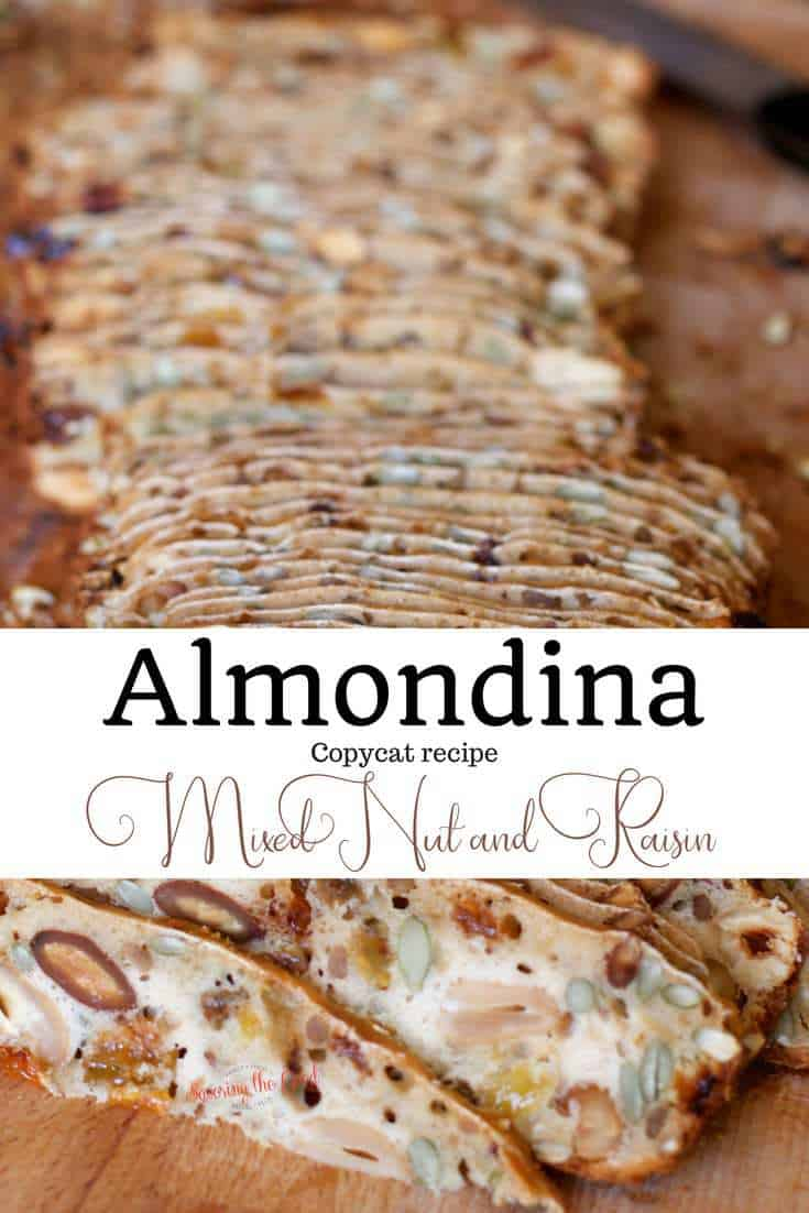 Almondina Mixed Nut Raisin Thins