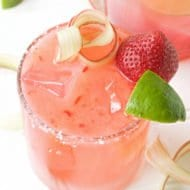 Strawberry Rhubarb Margarita Recipe