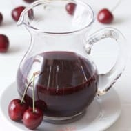 Cherry Syrup Recipe