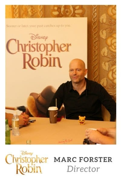 Marc Forster Director of Christopher Robin Interview