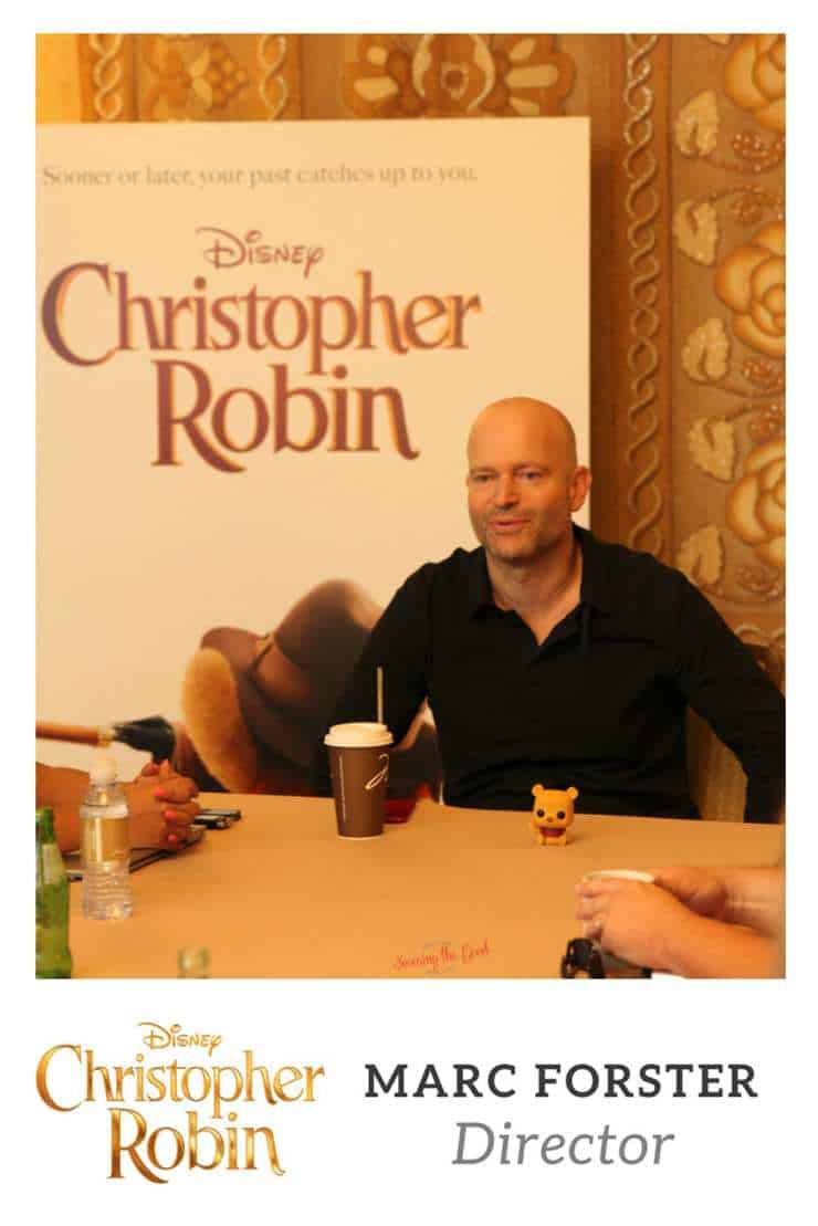Marc Forster Director of Christopher Robin