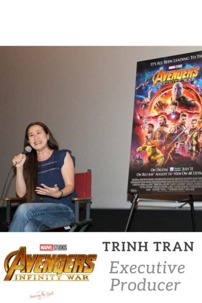 Trinh Tran Executive Producer of Avengers: Infinity War Interview