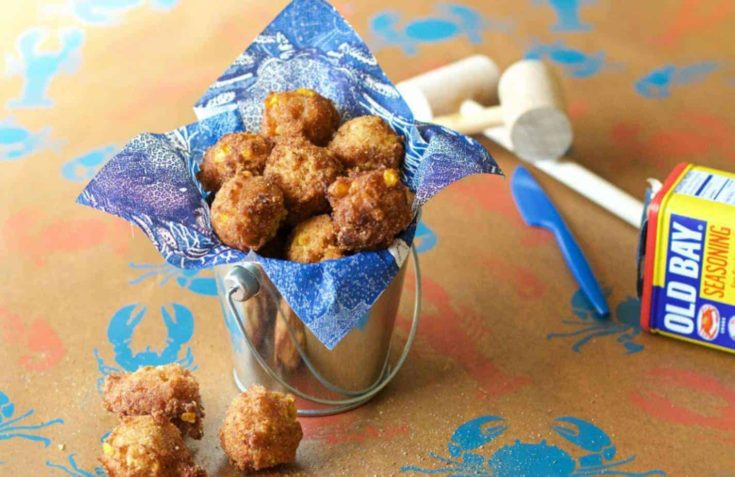 Crab Corn Fritters