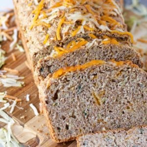 whole wheat Savory Zucchini Bread