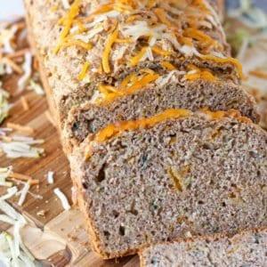 whole wheat Savory Zucchini Bread