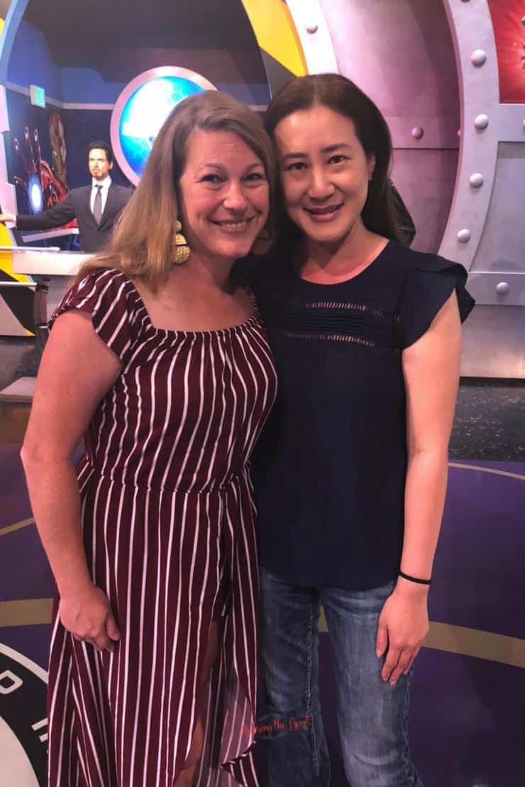 Trinh Tran Executive Producer of Avengers: Infinity War with Sarah Mock of Savoring The Good