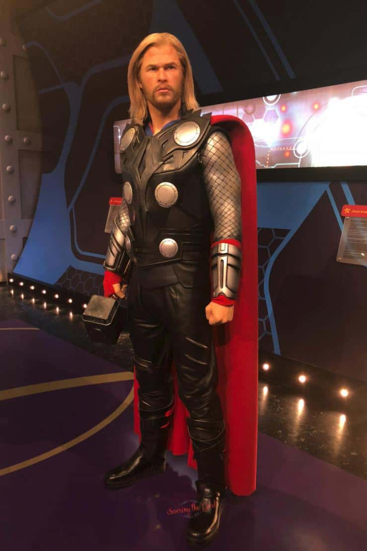What is new at Madame Tussauds Hollywood Thor full wax figure
