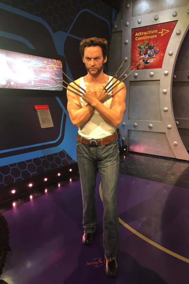 What is new at Madame Tussauds Hollywood Wolverine