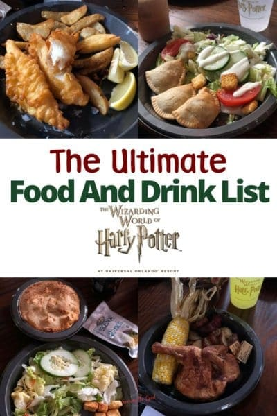 The Ultimate Food And Drink List For Wizarding World of Harry Potter, Orlando